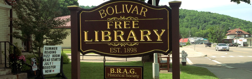 Welcome to the Bolivar Free Library
